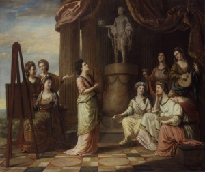 George Morland: the nine muses