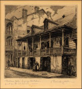 Madame John's Legacy House (l'héritage de Mme Jean)