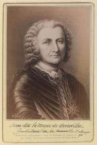 Albert Ferland: Jean-Baptiste le Moyne de Bienville