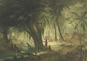 le camp indien de Catlin