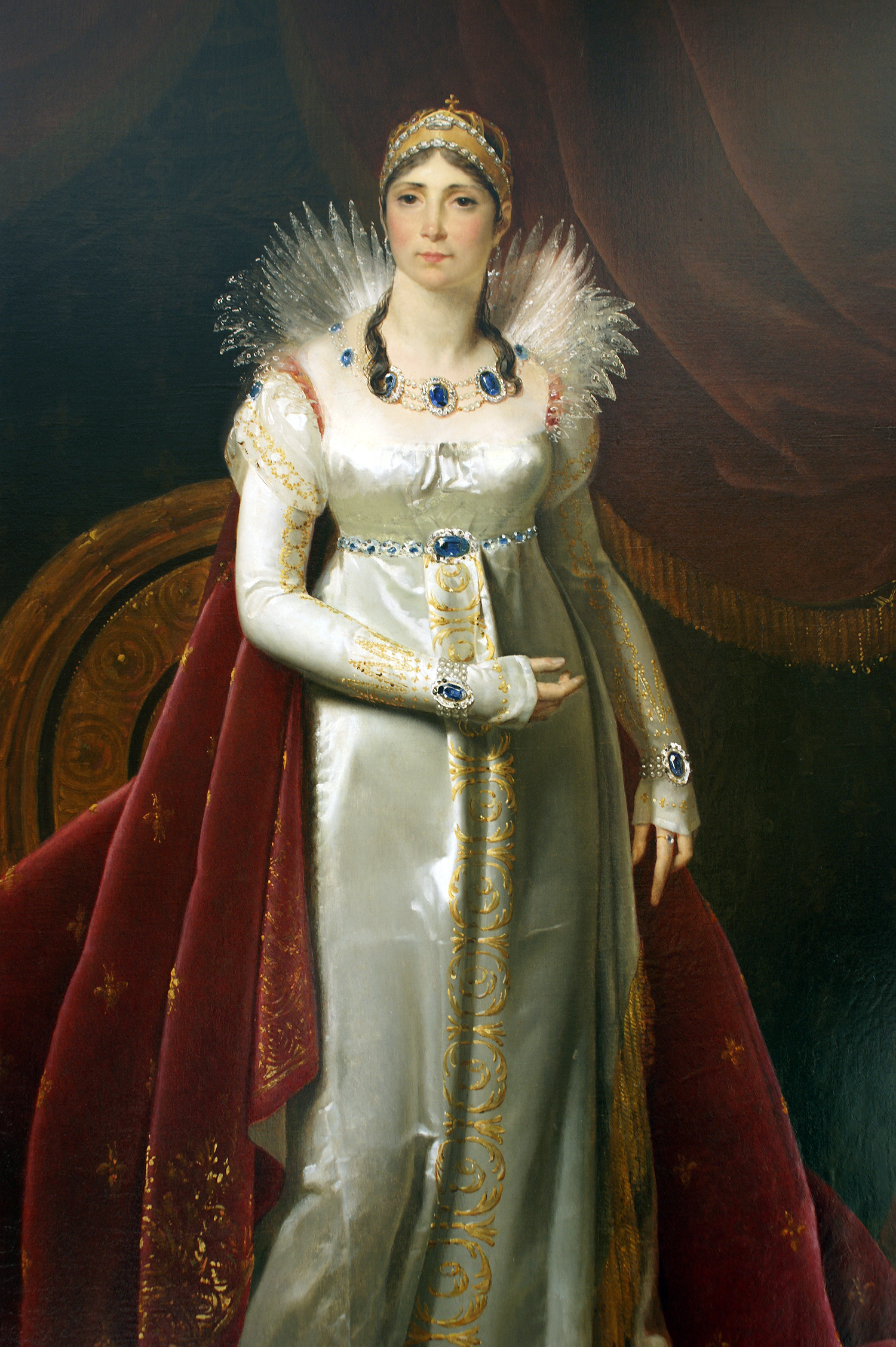 joséphine de beauharnais To know an attractive creole, joséphine tascher de la pagerie, who was the widow of general alexandre de beauharnais (guillotined during the reign of terror), the mother of two children, and a woman of many love affairs.