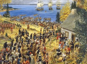 Claude Picard (The pillaging and destruction of Grandpre, Acadie in 1755