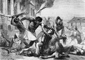 insurrection à Saint-Domingue