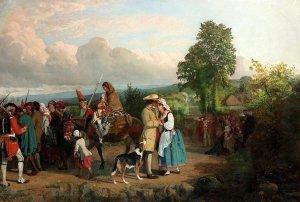 Henry Hetherington Emmerson: Evangeline, le départ d'Acadie