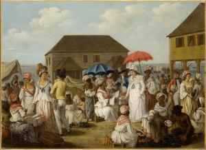 Market, Dominica, West Indies, 1770s