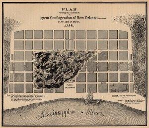 l'incendie de la Nouvelle-Orléans en 1788