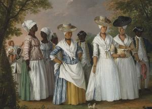 Agostino Brunias, Dominica, c.1764-1796. Gens de couleur libres