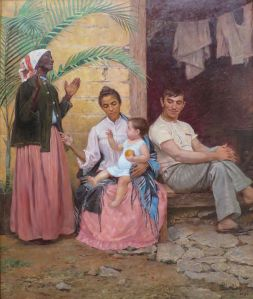 Modesto Brocos: mulatres