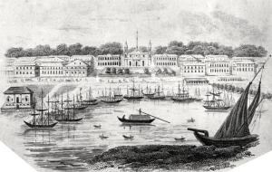 vue des quais de la Nouvelle-Orléans