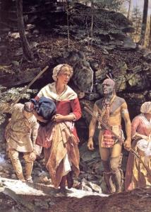Robert Griffing: la prise de Mary Jemison