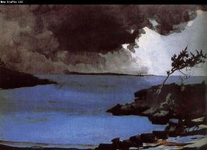 Winslow Homer: tornade à l'approche