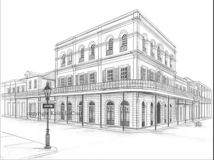 keith Lacour: Lalaurie House / New Orleans