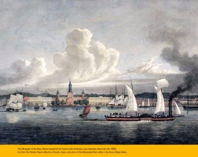 le port de la Nouvelle Orléans