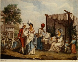 marché de Saint Domingue 1770s