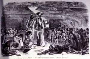 Africans in Hold of Slave Ship, mid-19th cent.