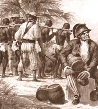 capture d'esclave