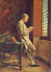 Jean-Louis Ernest Meissonier, le Liseur blanc