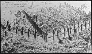 Bordeaux XIVème - Vue du chemin du Palais Gallien