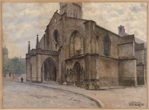 Edmond Fontan (Eglise Sainte-Eulalie, 1900