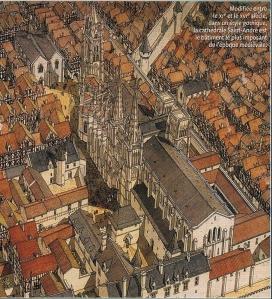 cathédrale Saint André et le Pey Berland