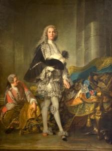 Jean-Marc Nattier (1685-1766) - Armand de Vignerot du Plessis  Maréchal de Richelieu