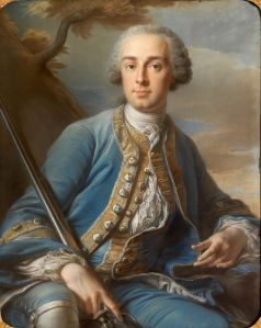 Jean Valade Portrait of a gentleman (Armand Guillaume François de Gourgues, Marquis of Vayres and d'Aulnay) 1753 - 1753