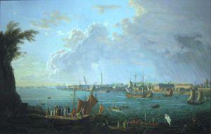 Le port de Lorient au XVIIIème siècle