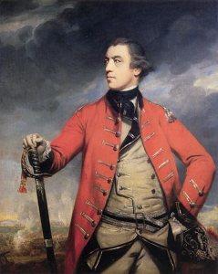 John Burgoyne, premier duc d'Albany, portrait de Sir Joshua Reynolds,