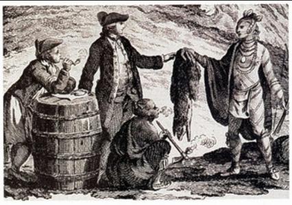 commerce des fourrures