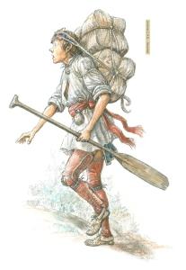 Francis Back (Young coureur des bois