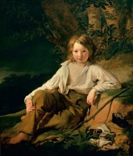 Friedrich von Amerling (1803-1887), Fisherboy (Josef von Amerlin