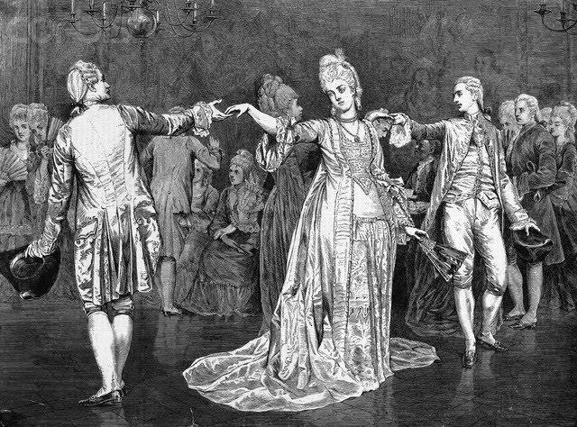 18th Century Ballroom Dancing