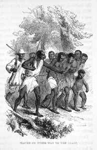 Captured Africans Taken to the Coast, Nigeria, 1853; (or), Liberia, 1840