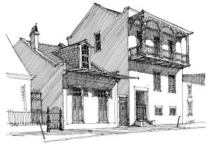 historic buildings of the french quarter 11