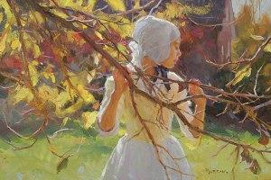 Scott Burdick (Old Salem Autumn