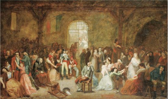 CHARLES-LOUIS MÜLLER L'APPEL DES DERNIÈRES VICTIMES DE LA TERREUR, LE 8 THERMIDOR AN II (26 JUILLET 1794)