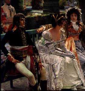 Francois Flameng (réception de Napoléon avec Joséphine, et Mme Tallien-002
