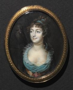 Portrait de Mademoiselle Marie-Anne Adélaïde Le Normand, c. 1793