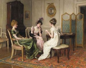 The fortune teller - Charles Haigh-Wood