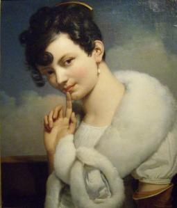 Thomas Henry (portrait de jeune femme-001