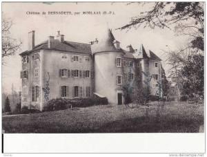 château de Bernadets