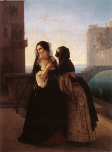 Francesco Hayez (Vengeance is Sworn, 1851