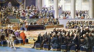 Ouverture des États généraux à Versailles, 5 mai 1789, Auguste Couder, 1839, Musée de l'Histoire de France (Versailles).