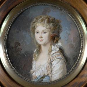 Portrait d'une aristocrate