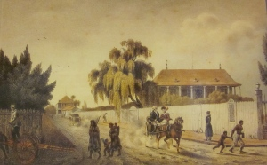 Felix Achille Beaupoil de Saint Aulaire (1801-1889) New_Orleans_Faubourg_Marigny_1821