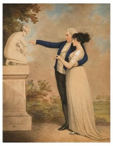 Adam Buck (1759 - 1833). A lady and gentleman 1801