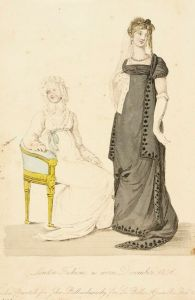 Fashion Plate (London Fashions As Worn December 1806) | LACMA Collections