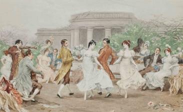 FREDERIK HENDRIK KAEMMERER (1839-1902) | Danse dans le