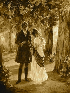 illustration-alcove- Eugene Onegin illustration by Lidia Timoshenko. 2