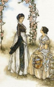 Lady Russell & Anne Elliot (Persuasion 4